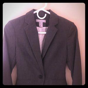 H&M Gray Slate dress blazer